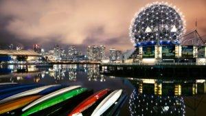 Vancouver, BC Harbour Photo At Dusk | Ng Sidhu Law