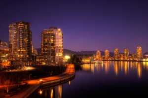 Night In Downtown Vancouver, BC | Ng Sidhu Law