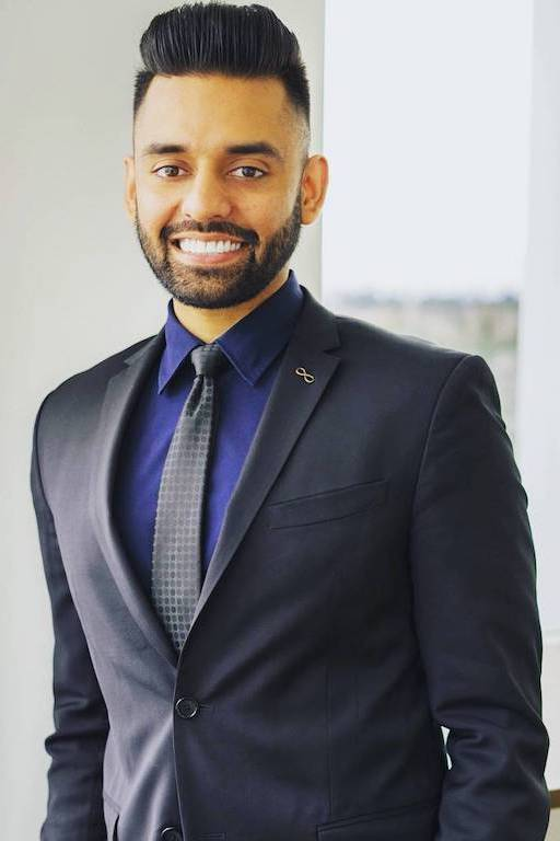 Shawn Sidhu in a Suit